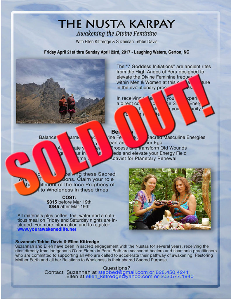 Nustas Event April 2017 SOLD OUT